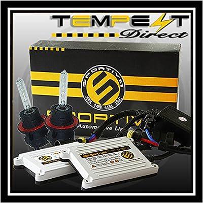 Sportiva H13 Bi Xenon AC 55W Ivory Series Xenon HID Conversion Kit with Premium 55W Ballasts