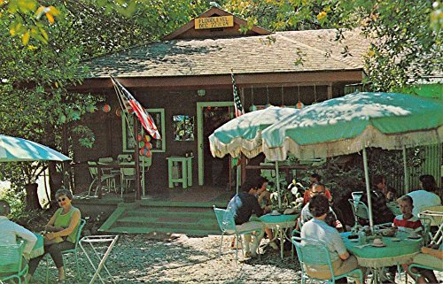 Agness Oregon Singing Springs Resort Street View Vintage Postcard K57476