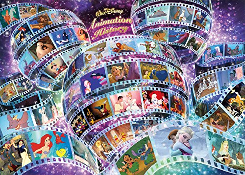 2000 piece jigsaw puzzle Disney animation history (73x102cm)