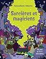 Sorcières et magiciens - Autocollants Usborne par Robson