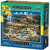 Dowdle Folk Art Yellowstone National Park Jigsaw Puzzle (500 Piece)