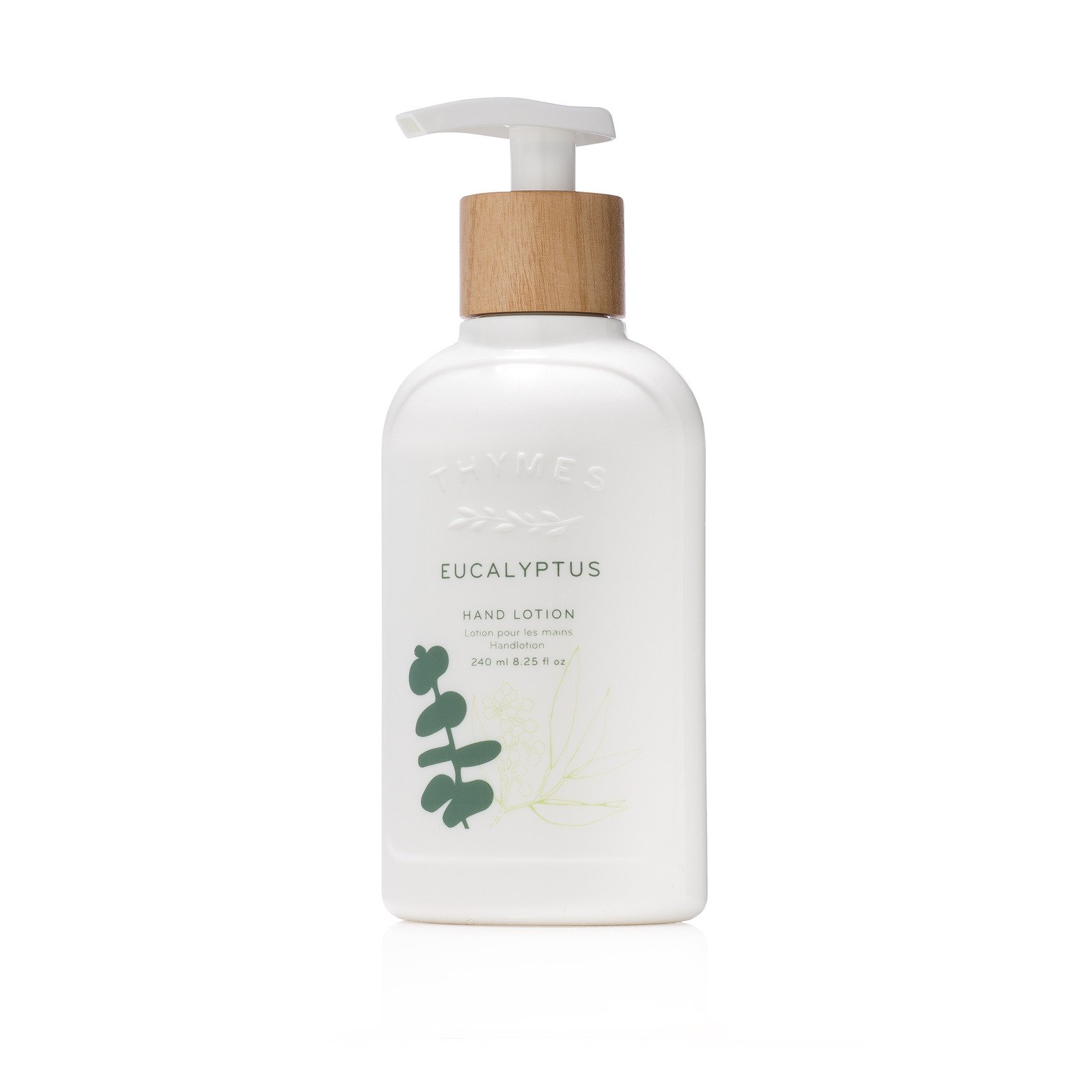 Thymes - Eucalyptus Hand Lotion with Pump - With Moisturizing Shea Butter and Vitamin E - 8.25 oz by Thymes