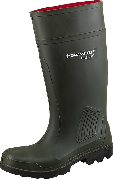 0506 Dunlop Gummistiefel PUROFORT S5 oliv