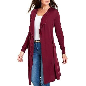 RETUROM Chaqueta Suéter Abrigo Jersey Mujer Invierno Talla Grande Hoodie Sudadera con Capucha Mujer Caliente y