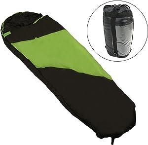 Kaufland 40º Superlite Mummy Sleeping Bag Green/Black
