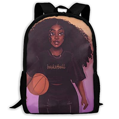 SARA NELL School Backpack Black Art African American Women Girl Afro Black Women Bookbag Casual Travel Bag For Teen Boys Girls | Kids' Backpacks