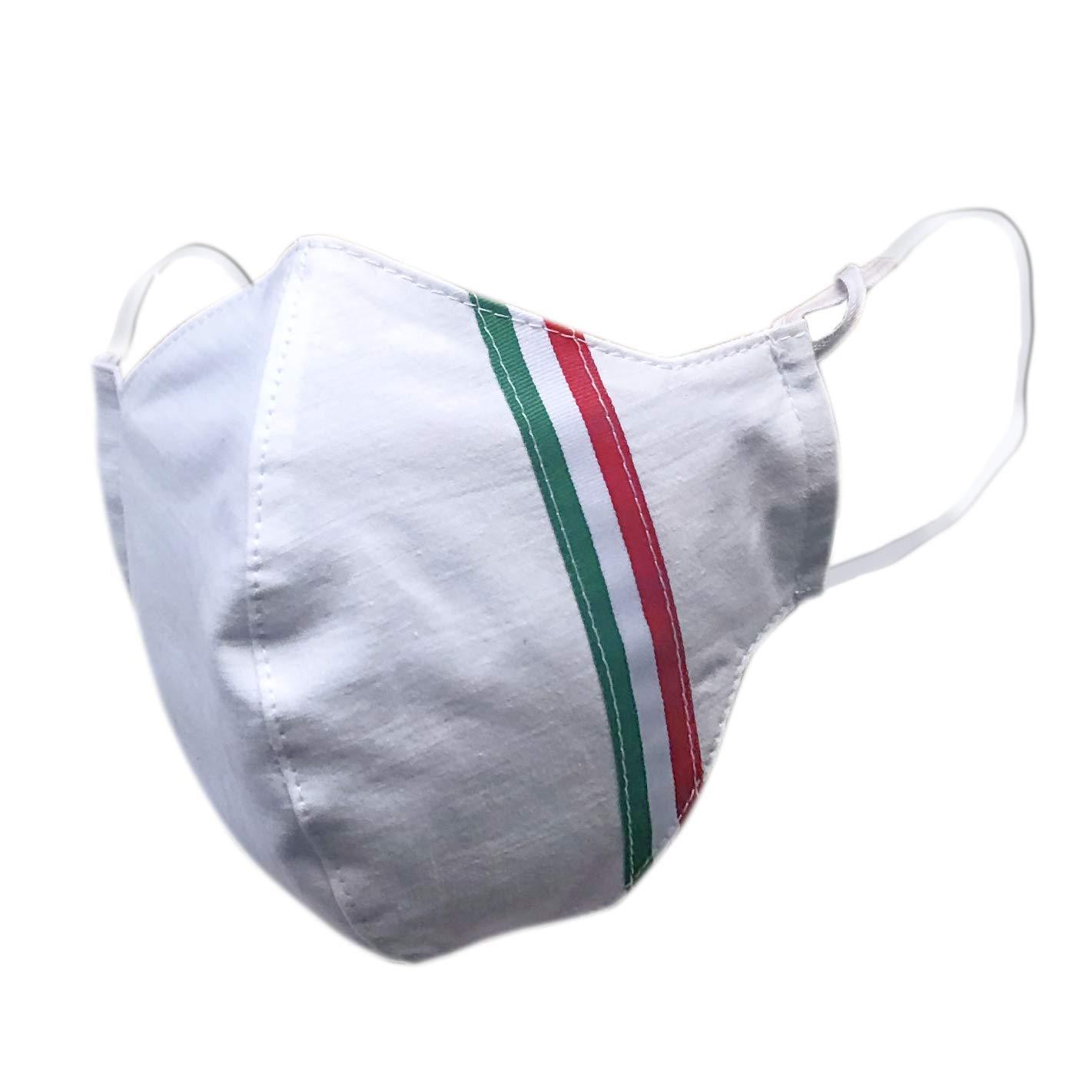 Copri Bocca Naso MJ431 Verona Cotone Lavabile Protezione Viso Riutilizzabile