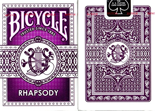 (Bicycle Purple Rhapsody Playing Cards)