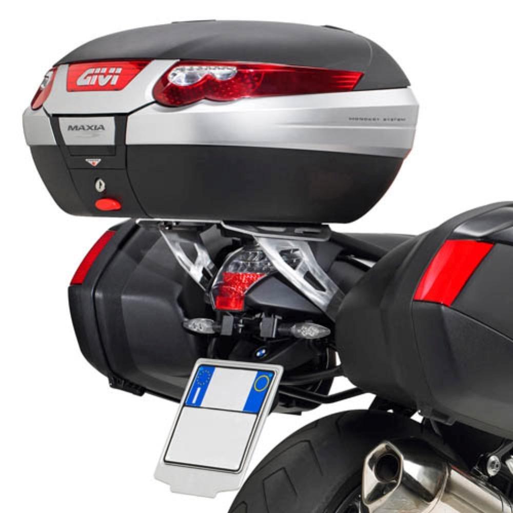 de Chargement 6 kg 1200 05-08 09 Givi SRA690 Support Top Case Monokey Valise avec Une Plaque Aluminium//capacit/é Max BMW K 1300 R ann/ée de Fabrication