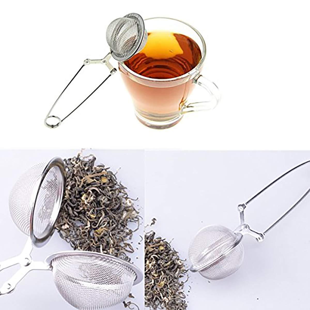 Boule a The feuilles Passe Infuseur Filtre Passoire Cuillere Maille Tea Infuser