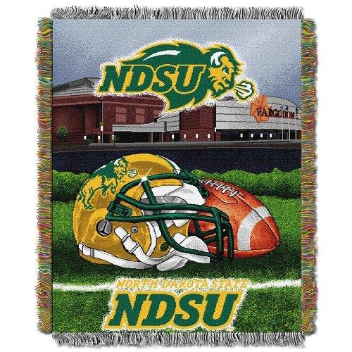 Northwest North Dakota Fighting Sioux NCAA Woven Tapestry Home Field Advantage 48
