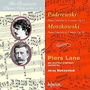Paderewski: Piano Concerto in A Minor / Moszowsky: Piano Concerto in E Major
