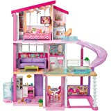 Barbie DreamHouse Playset with 70+ Accessory Pieces Playsets at amazon