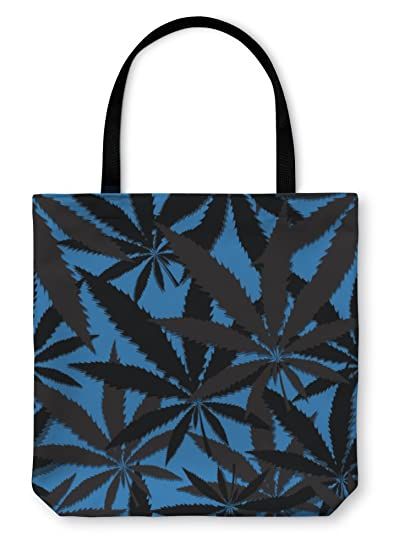 Gear New Tote Bag, Shoulder Tote, Hand Bag, Wallpaper With Leaves Of Cannabis, Large