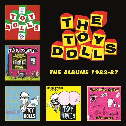 CD : Toy Dolls - Albums 1983-1987 (Boxed Set, United Kingdom - Import, 5PC)