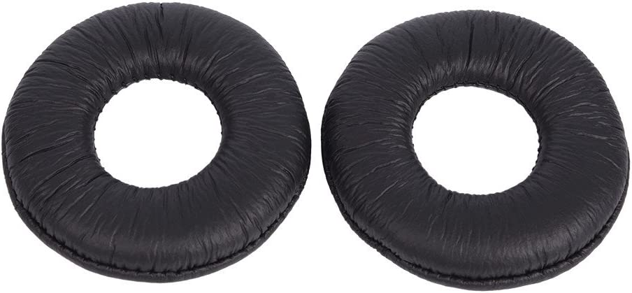 Zerone A Pair of Replacement Soft Ear Pads Cushion PU Leather Foam Earpads for Sony MDR-ZX110 V150 V250 V300 Headphones