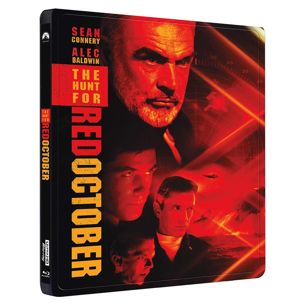 The Hunt for Red October Collector's Edition Steelbook [Blu-ray]