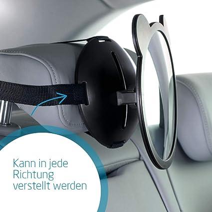 Maxi Cosi Großer Sicherheitsspiegel Für Das Auto Mit Großem Sichtwinkel Schwarz Baby