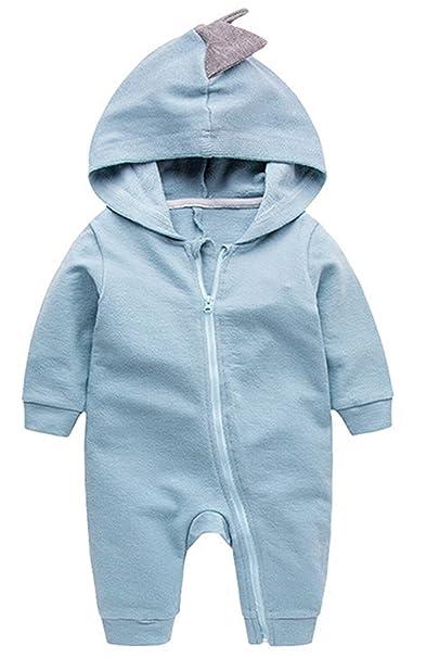df9b72e31410 EGELEXY Dinosaur Newborn Boy Girl Rompers Halloween Christmas Baby  Outerwear Clothing