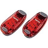 Hama 106998 - Linterna (Recortar, Negro, Rojo, LED, CR2032, 5,5 cm, 2,8 cm)