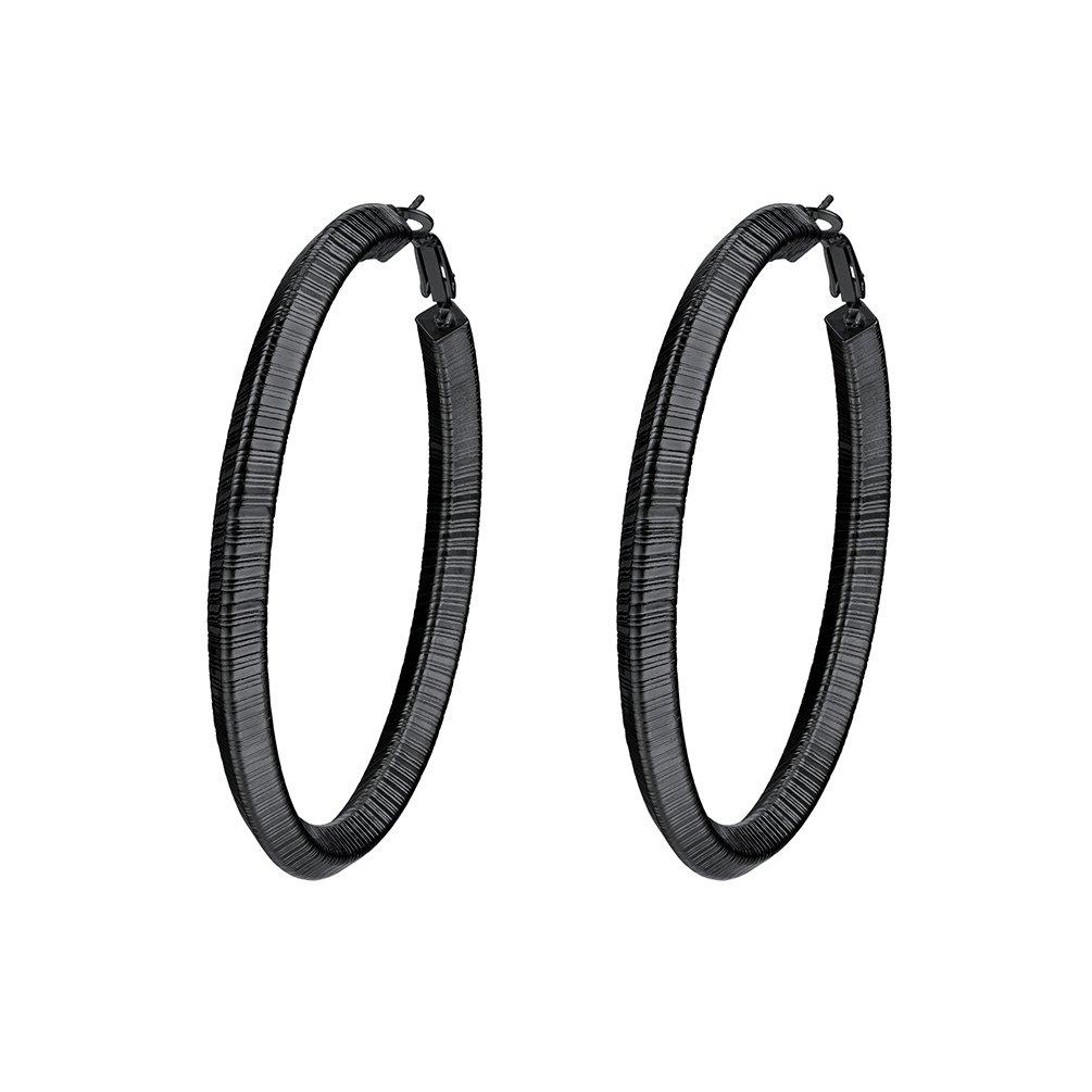 Hoops Earring For Women Big Hoop Earrings Fashion Jewelry 316L Stainless Steel Girls Jewelry PSE3361 PROSTEEL Jewelry PSE3361G-25-NA