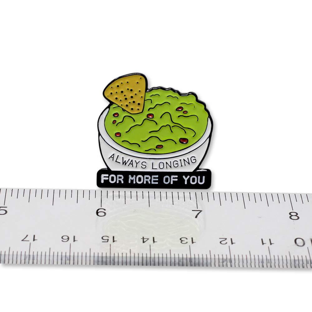 WIZARDPINS Always Longing for More Guacamole Enamel Pin