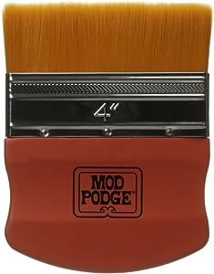 Mod Podge Gold Brush Applicator 4-Inch, 12917 Taklon, 1 Pack