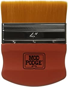 Mod Podge Brush Applicator 4-Inch, 12917 Gold Taklon