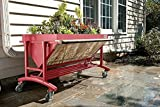 Lgarden Elevated Gardening System, Terra Cotta (Light Red)