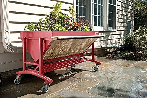 LGarden No.0098 Elevated Gardening System44; Terra Cotta by Lgarden