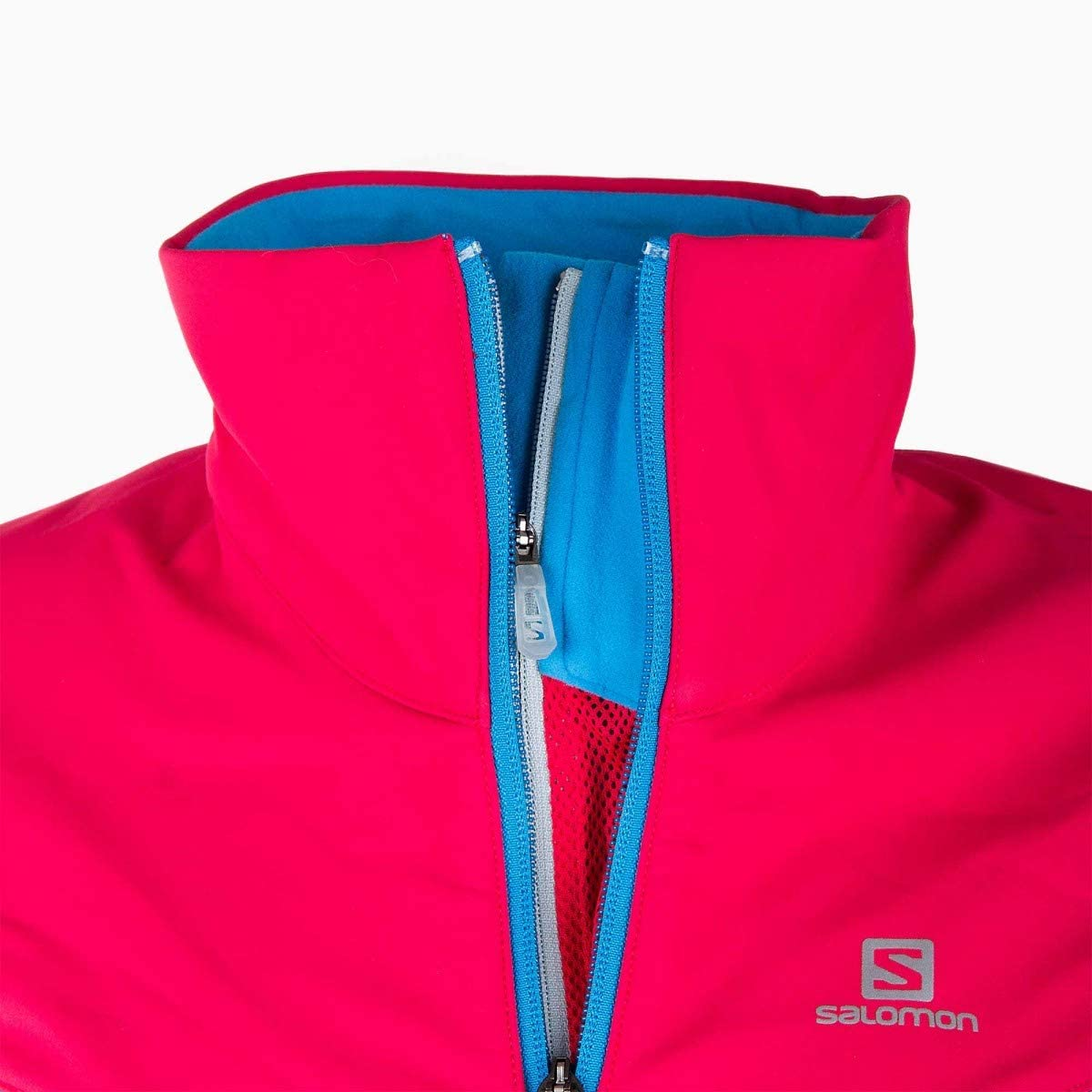 SALOMON Veste de Ski Advanced Skin Shield Femme 40 Bleu