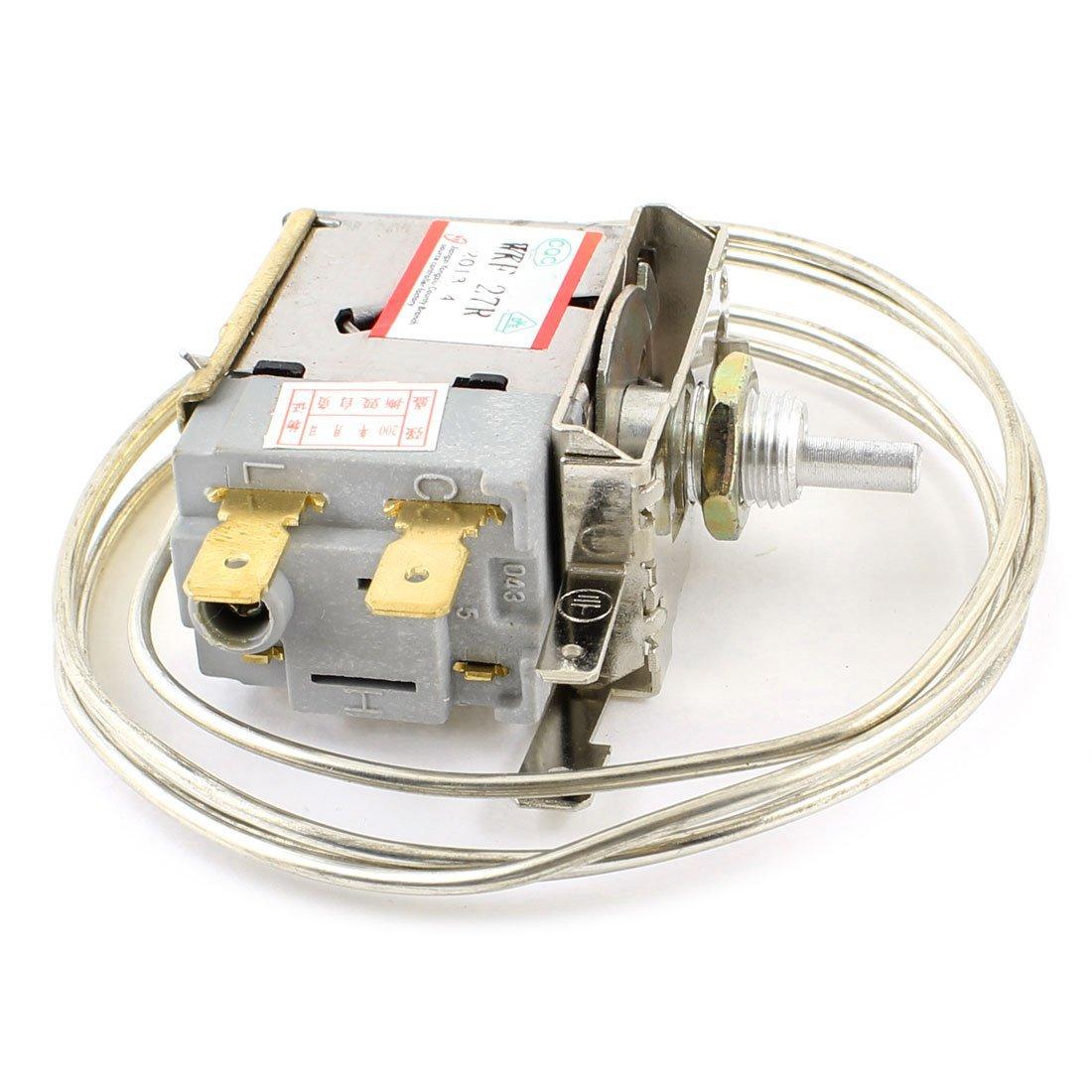 SODIAL(R) AC 250V 6A Termostato de refrigerador congelador de ...