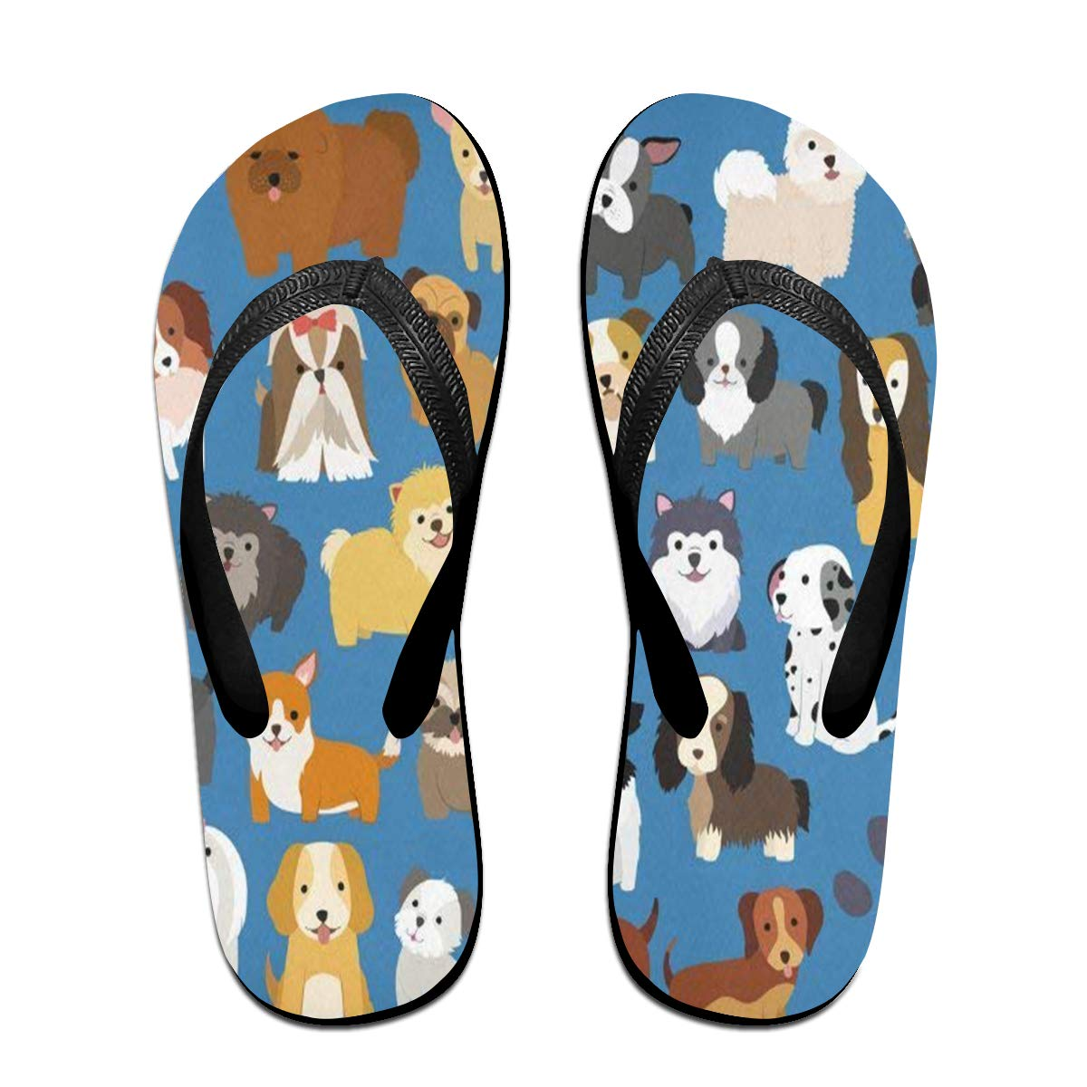 0dbb7fb24635 Amazon.com  Flip Flops Sailing Ships Ocean Women s Beach Slippers Brazil  Sandals For Woman  Clothing