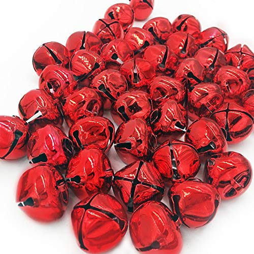Hot Bear Jingle Bells 1-Inch, 20-Pack (red)