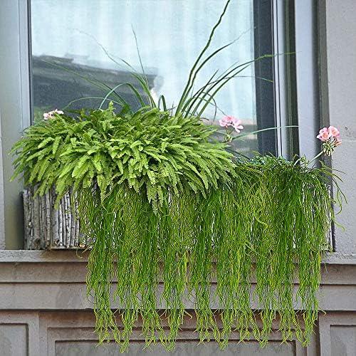 Artificial Seaweed Fern Grass Vine Wall Hanging Plant Realistic LookPlastic