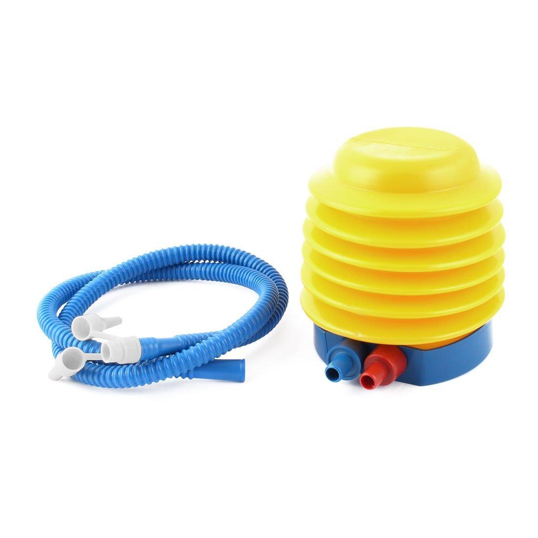 Amazon.com : eDealMax Globo inflable bola Accesorios Para inflar Con aire del flotador juguete Bomba de Pie Azul Amarillo : Baby