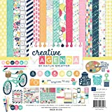 Echo Park Paper Company CA70016 Creative Agenda Collection Scrapbooking Kit