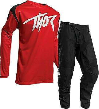 Thor - Traje de Motocross de Carreras Sector-2020 MX Jersey y ...