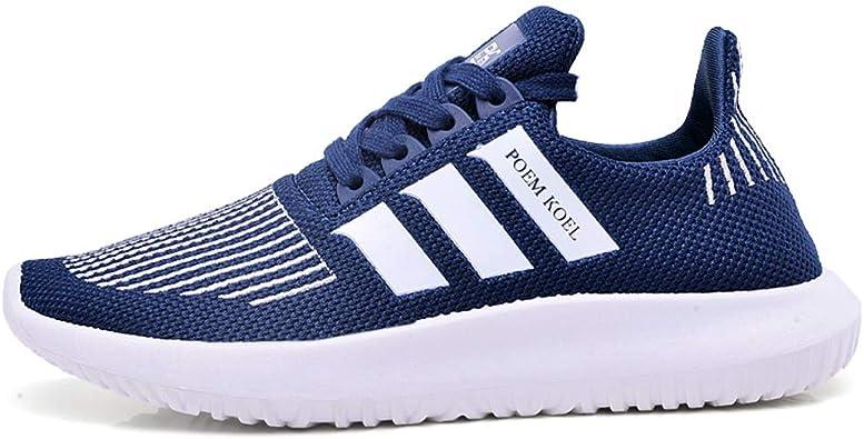 Zapatillas de Correr para Mujer Ligeras y Antideslizantes Antideslizantes Zapatillas de Deporte para Correr al Aire Libre Tenis para Caminar: Amazon.es: Zapatos y complementos