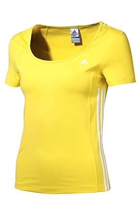 Adidas Opaque T Shirt Femme Jaune XlVêtements eWE9YIDH2