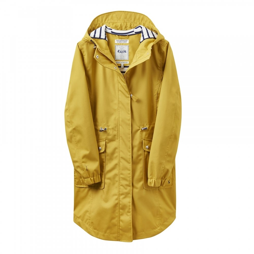 Joules Raina Coastline Jacket - Women's Antique Gold, 10