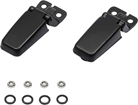 OEM Liftgate Window Glass Hinge Driver /& Passenger Side Pair for Nissan Infiniti