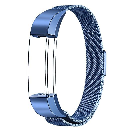 16 opinioni per Fitbit Alta HR e Alta Bande Cinghia, Swees Milanese Magnetica Loop di ricambio