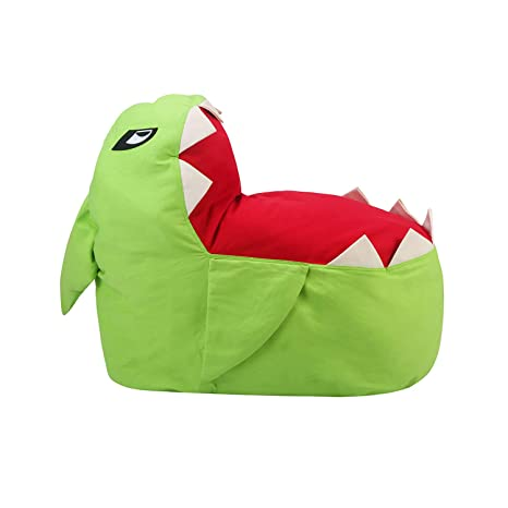 Strange Twjh Large Padded Animal Storage Bean Bag Chair Plush Toy Organizer Pillowstowelsclothes Stuffed Storage Bag No Stuffing Green Gmtry Best Dining Table And Chair Ideas Images Gmtryco