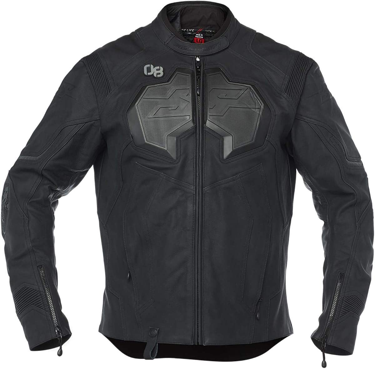 Speed /& Strength Exile Leather Jacket Black Small