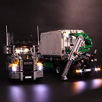 Led Lights For Semi Trucks >> Amazon Com Peleustech Led Light Kit For Lego Technic Mack