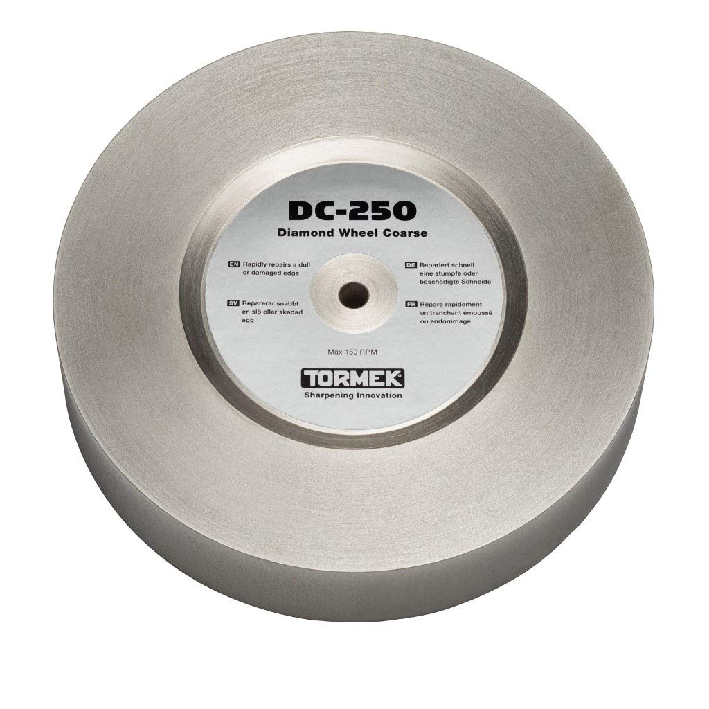 DC-250 for T-8 and T-7 Tormek 360 Grit Diamond Wheel Coarse