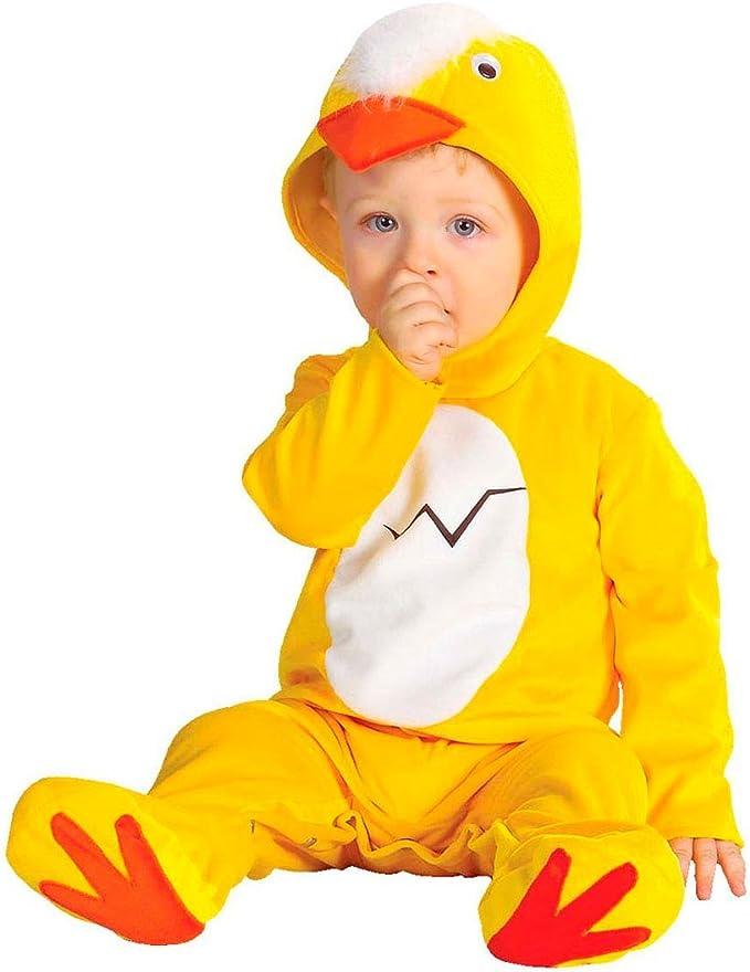 NET TOYS Disfraz de Pollito para bebé Traje Pollo bebé Mono Animal ...