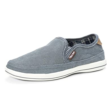 MUK LUKS Men s Otto Shoe-Grey Boat a07d0474847a