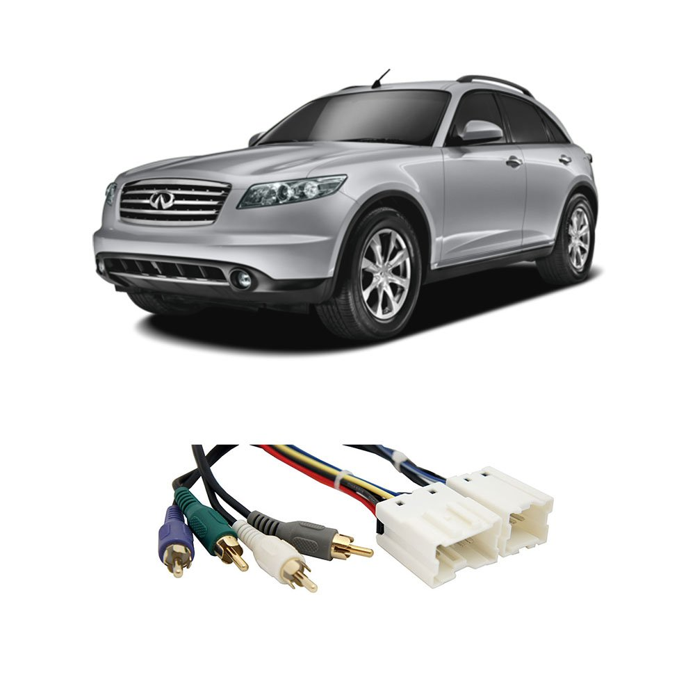 Amazon.com: Fits Infiniti FX35 FX45 03-08 (Premium) Factory to Aftermarket  Radio Harness: Car Electronics